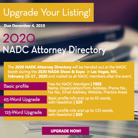 2020 NADC Attorney Directory