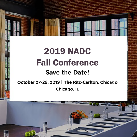 2019 NADC Fall Conference