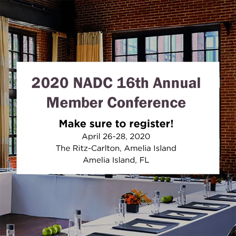 2020 NADC 16th Annual Member Conference